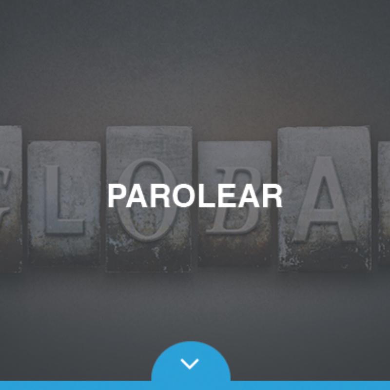 Parolear webpage